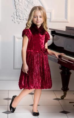Новогодние платья с мехом фото 3