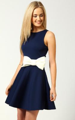 Платье с бантом 2