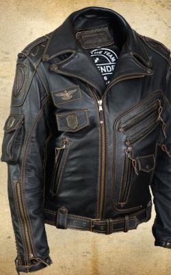 модные байкерские куртки фото 1