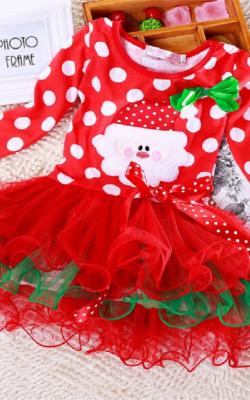 Рождественские платья фото 1