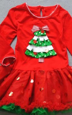 Рождественские платья фото 2