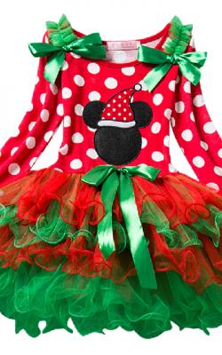 Рождественские платья фото 3