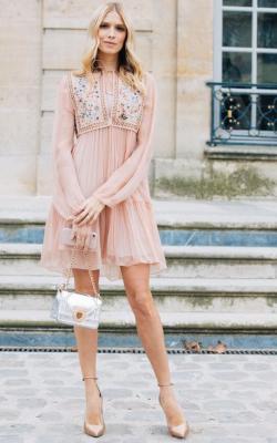 Платье 2018 фасон рукава фото 1