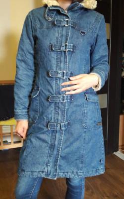 С чем носить джинсовое пальто фото 5