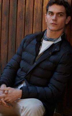 С чем носить мужскую куртку пуховик зимой фото 18
