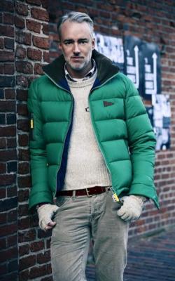 С чем носить мужскую куртку пуховик зимой фото 4