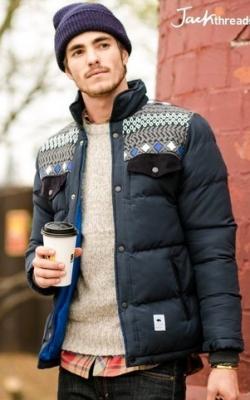 С чем носить мужскую куртку пуховик зимой фото 5