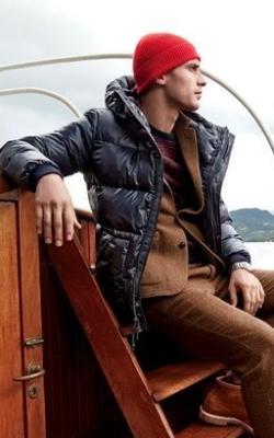 С чем носить мужскую куртку пуховик зимой фото 9