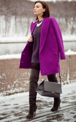 С чем носить шерстяное пальто фото 12