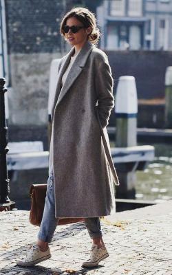 С чем носить шерстяное пальто фото 4