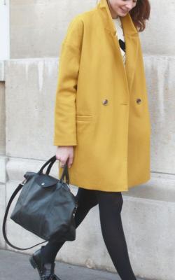 С чем носить шерстяное пальто фото 5