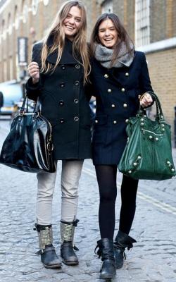 С чем носить женское пальто из кашемира фото 6