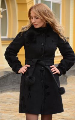 Самое тепле зимнее пальто фото 1