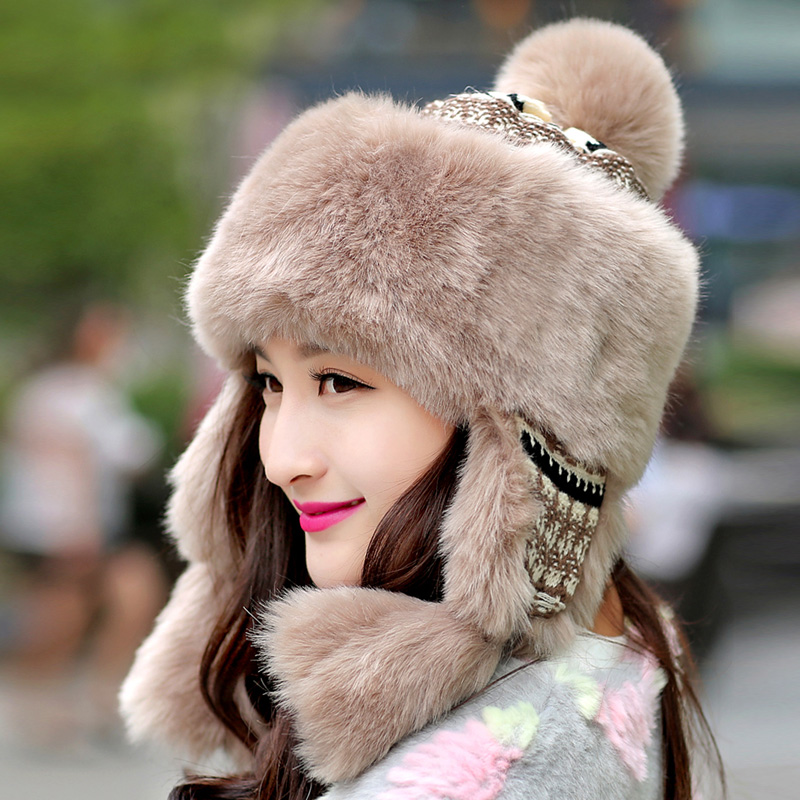 кроличья шапка 2