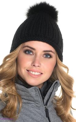 шерстяная женская шапка фото 2