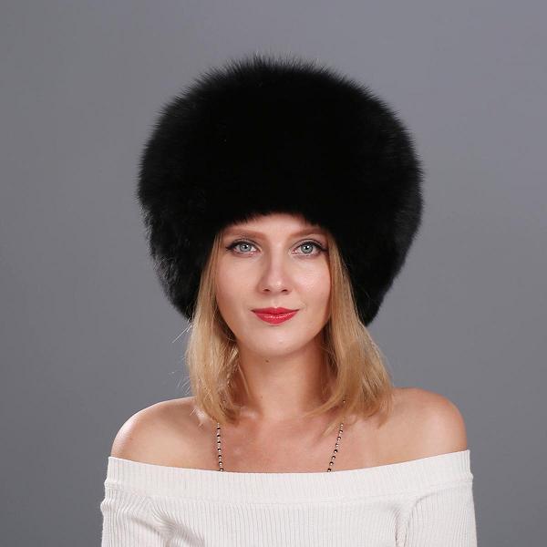 Женские меховые шапки купить в москве недорого