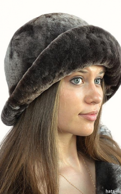 шапка из мутона фото3