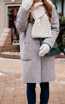 С чем носить вязаную шапку фото 9