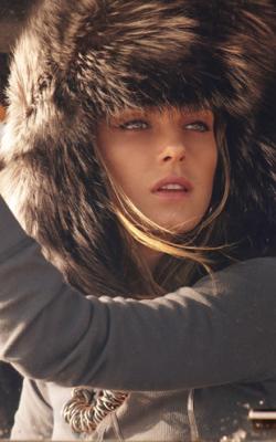 Женская шапка ушанка зима фото 2