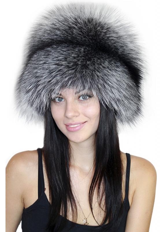 шапка из чернобурки 4
