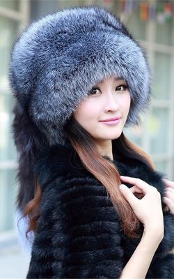 шапка из чернобурки 5