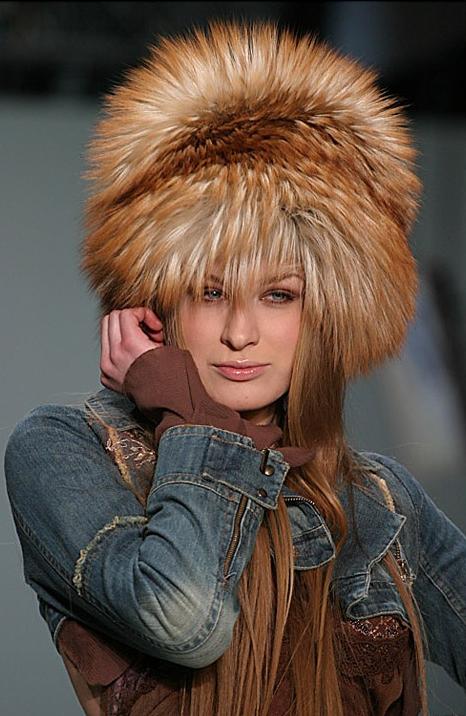 лисья шапка 1