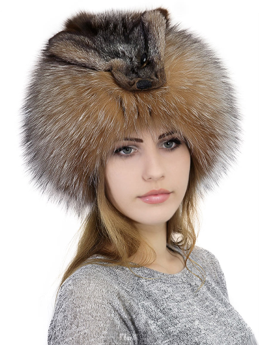 лисья шапка 5