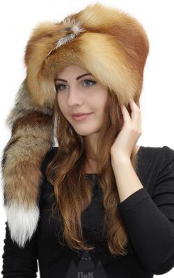 лисья шапка 2