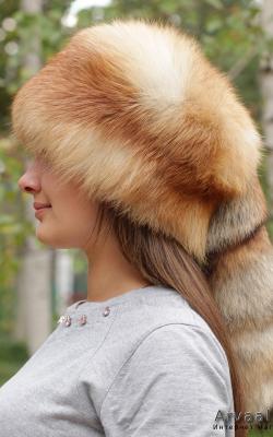 лисья шапка 3