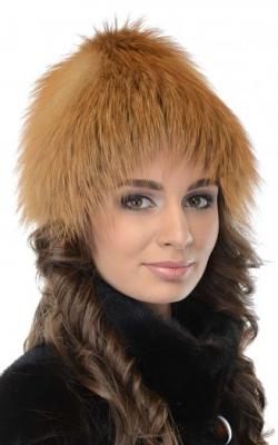 лисья шапка 4
