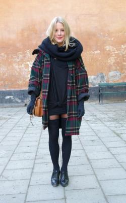 шарф на пальто с капюшоном фото 1