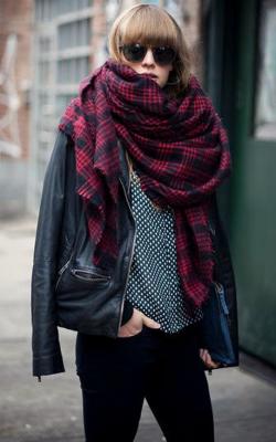 шарф платок 1