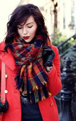 шарф платок 3