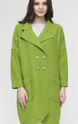 Шерстяное пальто фото 4