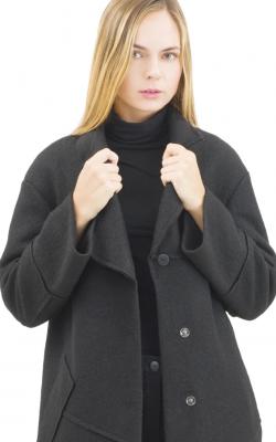 Шерстяное пальто фото 6
