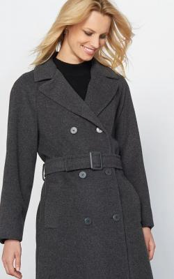 Шерстяное пальто фото 7