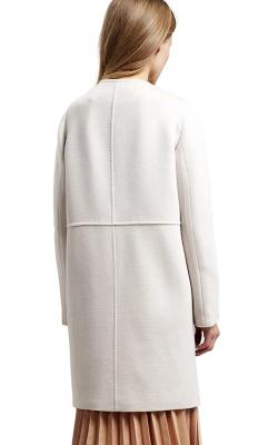 Шерстяное пальто фото 1