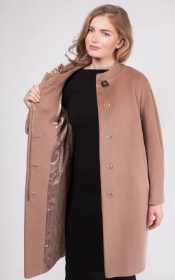 Шерстяное пальто фото 3