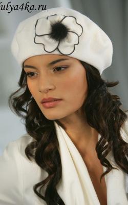 шерстяная женская шапка фото 8