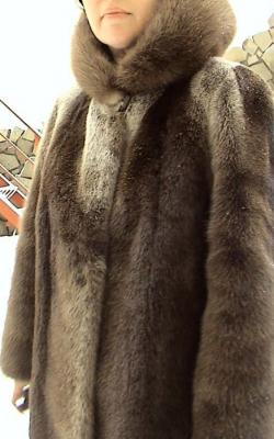otter fur coat 114