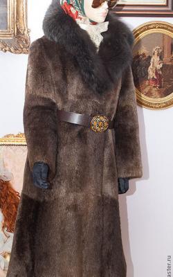 otter fur coat 115