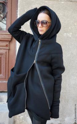 Спартивное пальто с капюшоном фото 5