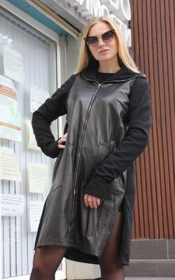 Спартивное пальто с капюшоном фото 6