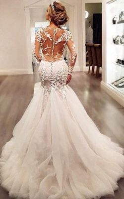 свадебное платье 2018 фото 8