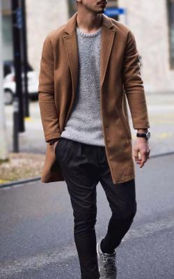 Мужское пальто - укороченные модели фото 1