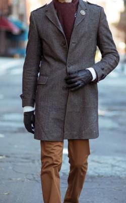 Мужское пальто - укороченные модели фото 2