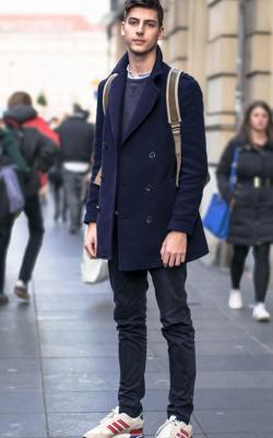 Мужское пальто - укороченные модели фото 3
