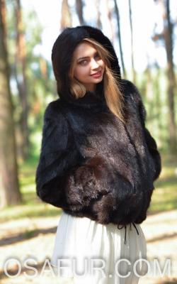 otter fur coat 112