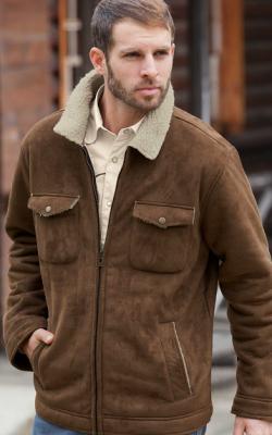 Замшевые куртки фото 3