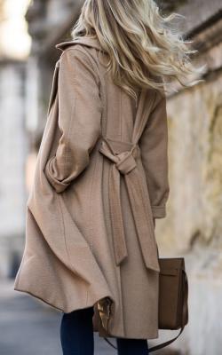 как красиво завязать пальто8